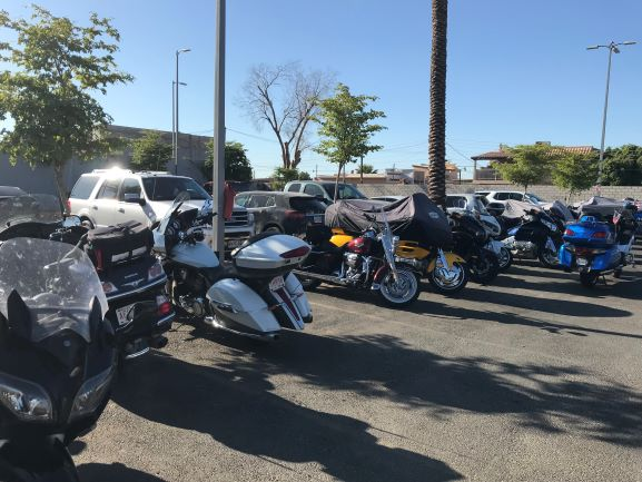 Over 200 motorcycles left Mexico